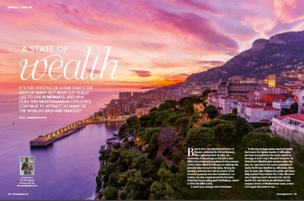 Editorial feature lifestyle travel Chrissie McClatchie journalist