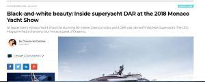 Digital feature yacht review Chrissie McClatchie journalist